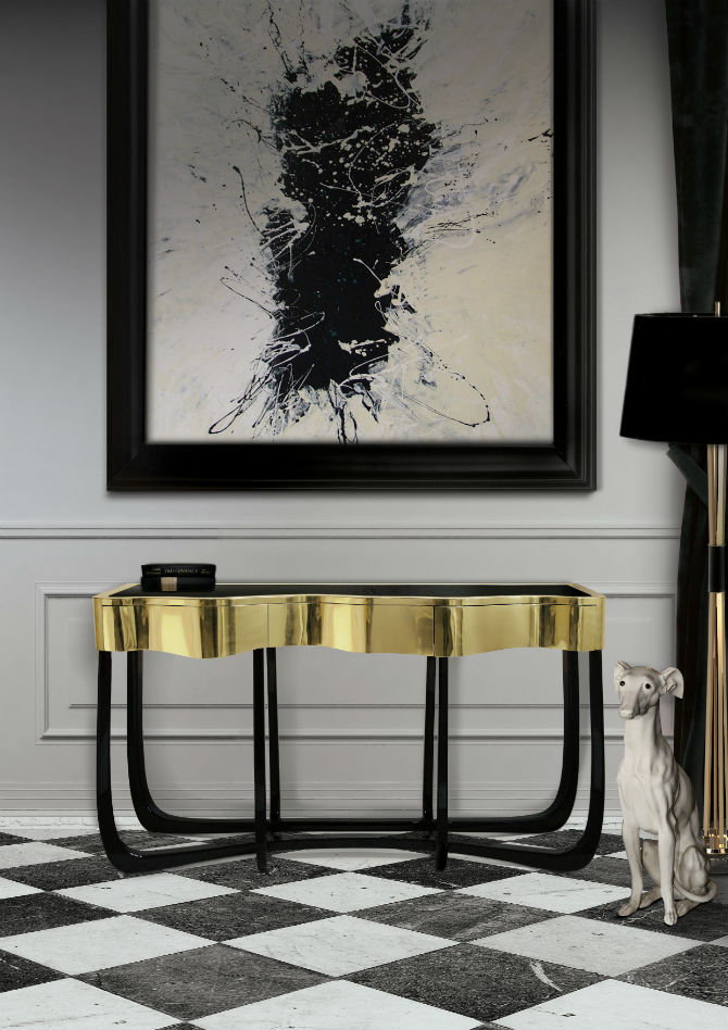 10 Foyer Decorating Ideas With Modern Chairs (9) Decorating Ideas 10 Foyer  Decorating Ideas