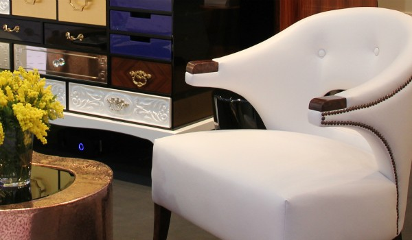 Decorate your Bedroom with a Luxurious White Armchair (2)