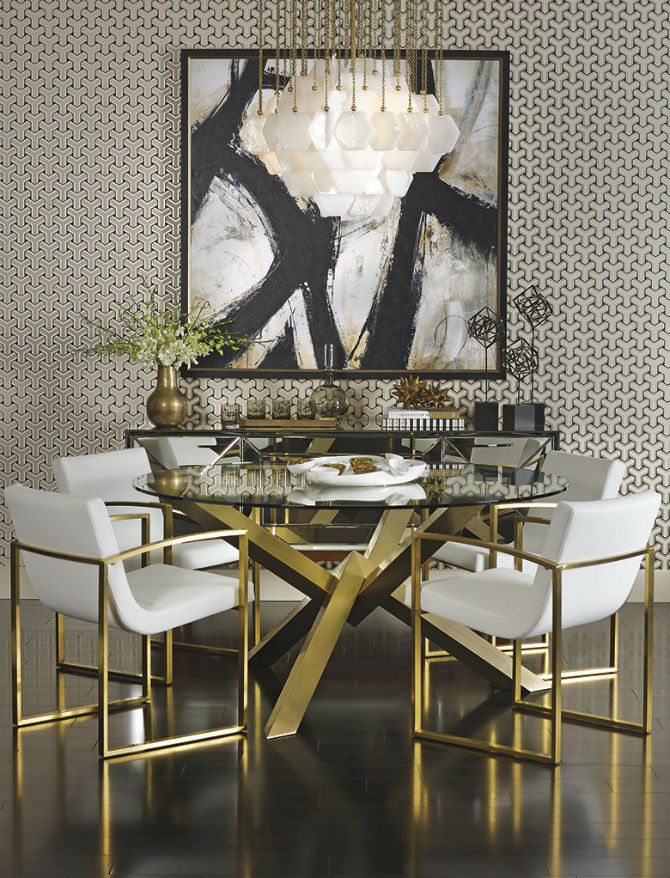 Dining Room ideas with Modern Chairs (7) dining room design ideas Dining Room Design ideas with Modern Chairs Dining Room Design ideas with Modern Chairs 7