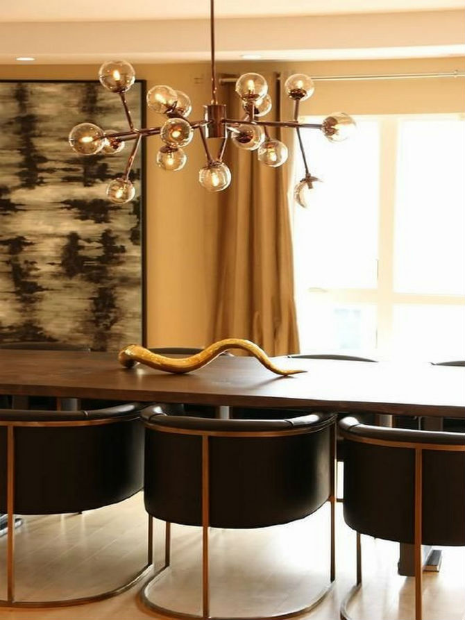 Dining room design ideas leather dining chairs for Modern leather dining room chairs