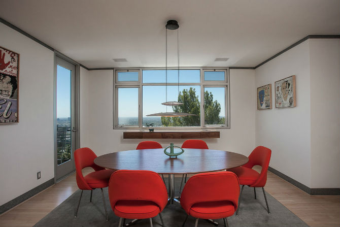 Fill Your Modern Dining Room With Fabulous Red Chairs Modern Dining Room  Fill Your Modern Dining
