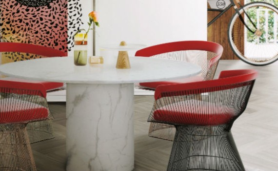 Fill your Dining Area with Colors Red Chair Inspiration (2)