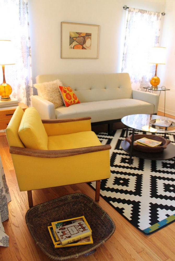 how to decorate your living room with a sofa chair