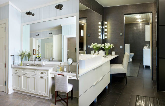 How To Decorate Bathroom how to decorate a small bathroom with a white chair?
