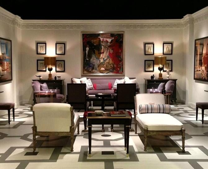 Mary Mcdonald Designer dining room chairs in design projectsmary mcdonald