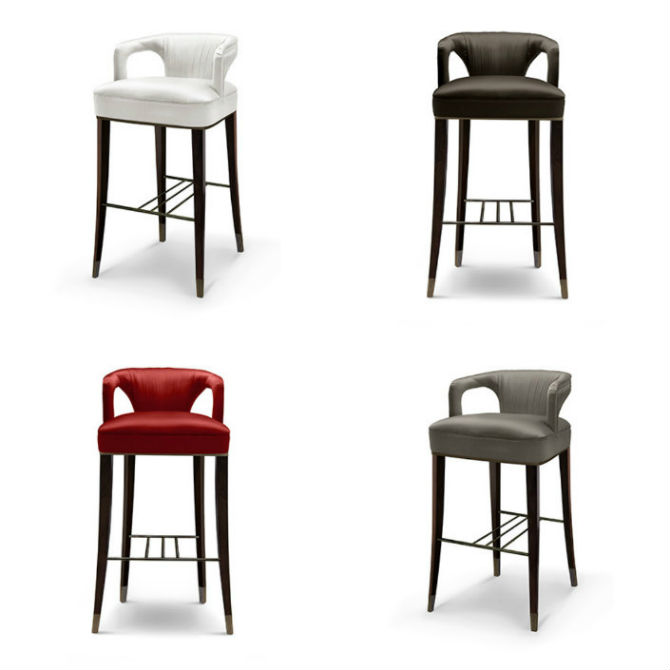 New Contemporary Counter Stools For Your Kitchen By Brabbu