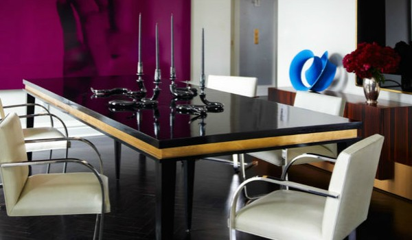 The Most Glamorous Leather Dining Chairs (2)