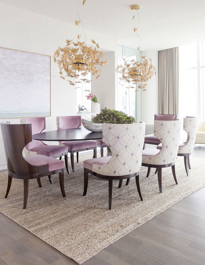 The Newest Spring Trends For Upholstered Dining Chairs (2) Upholstered  Dining Chairs The Newest