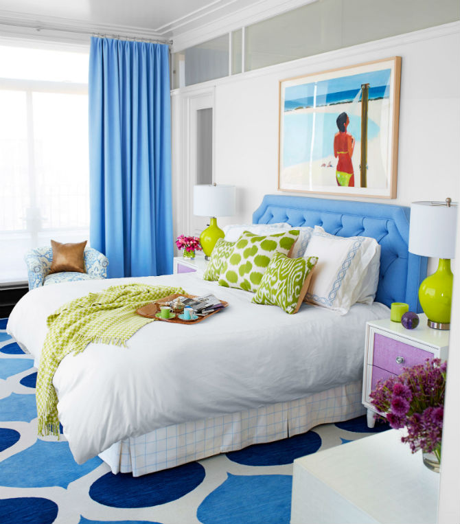 Colorful Bedroom: Top Colorful Master Bedroom Chairs