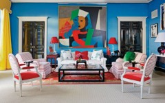 10 Bold Living Room Chairs In Vibrant Personality Rooms