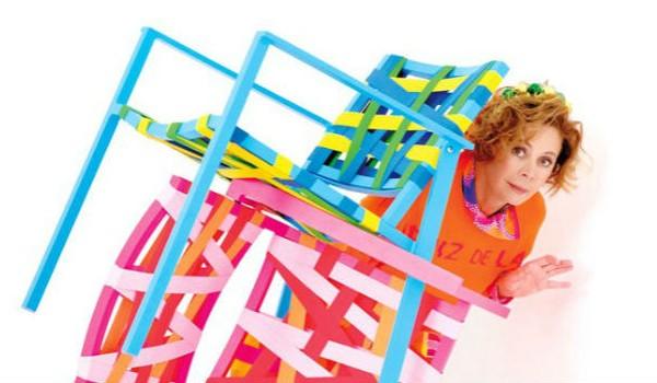 Agatha Ruiz de La Prada Reinterprets Chair Design Collection