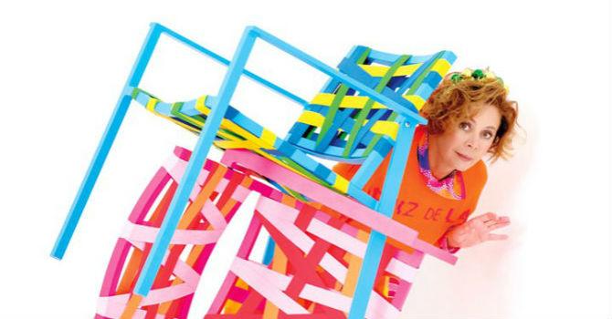 agatha ruiz de la prada reinterprets chair design collection. Black Bedroom Furniture Sets. Home Design Ideas