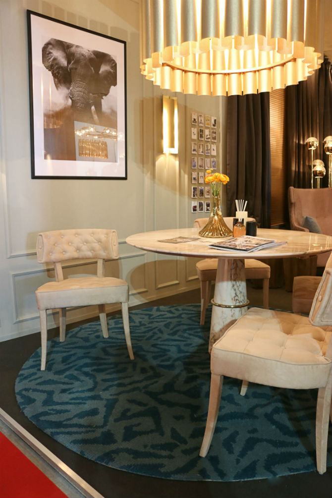 Italian Design Furniture: Upholstered Chairs For the Dining Room