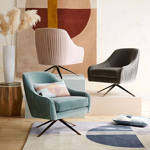 Dining Chair Trends For 2016: Best 50 Velvet Chair Trends For 2016, According To