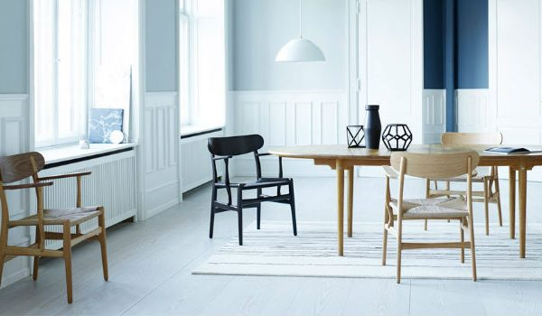 Designer Chairs Carl Hansen & Søn Relaunches CH22 Lounge Chair