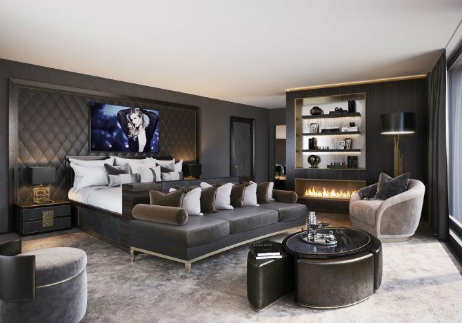 Find the best velvet armchair for your bedroom for Velvet bedroom designs