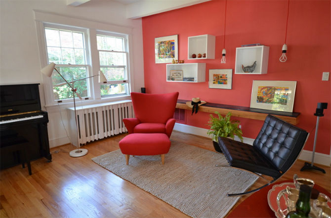 How to Decor your Living Room with a red chair red chair How to Decor your Living Room with a red chair How to Decor your Living Room with a red chair 4