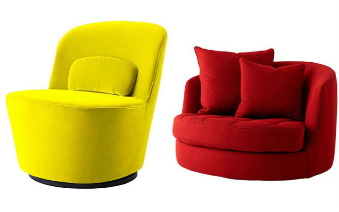 Top 10 Chairs for the Living Room by Elle Decor Swivel Chairs Top 10 Swivel Chairs for the Living Room by Elle Decor Top 10 Swivel Chairs for the Living Room by Elle Decor 4