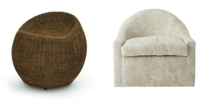 Top 10 Swivel Chairs for the Living Room by Elle Decor Swivel Chairs Top 10 Swivel Chairs for the Living Room by Elle Decor Top 10 Swivel Chairs for the Living Room by Elle Decor 7