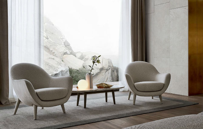 . Top 10 Glamorous Small Armchair Designs for Your Living Room