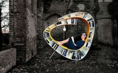 What About a Bookshelf Design Chair For your Home Library
