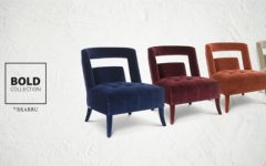 You'll Go BOLD With This Living Room Chairs by Brabbu