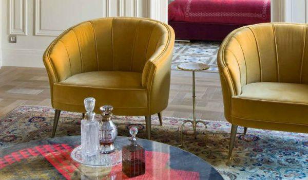 Modern Chairs 5 Velvet Armchair Designs Trending Next Season