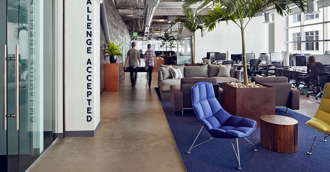 10 Unbelievable Modern Chairs at Dropbox Headquarters. Send Your CV!