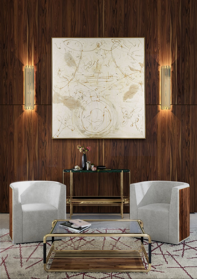 . 6 Modern Side Chair and Wall Lamp Designs For an Elegant Living Room
