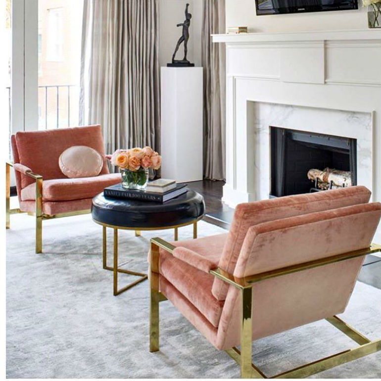 The Best Fireplaces and Velvet Armchair Designs For Cold Days Velvet Armchair The Best Fireplaces and Velvet Armchair Designs For Cold Days The Best Fireplaces and Velvet Armchair Designs For Cold Days 7