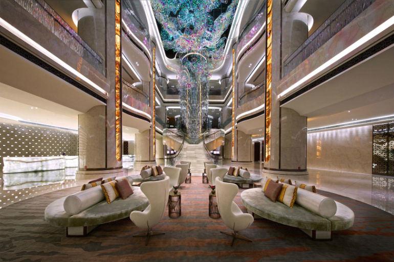 hospitality design projects Top 5 Hospitality Design Projects in 2016 large 2607 JW Marriott Macau 2