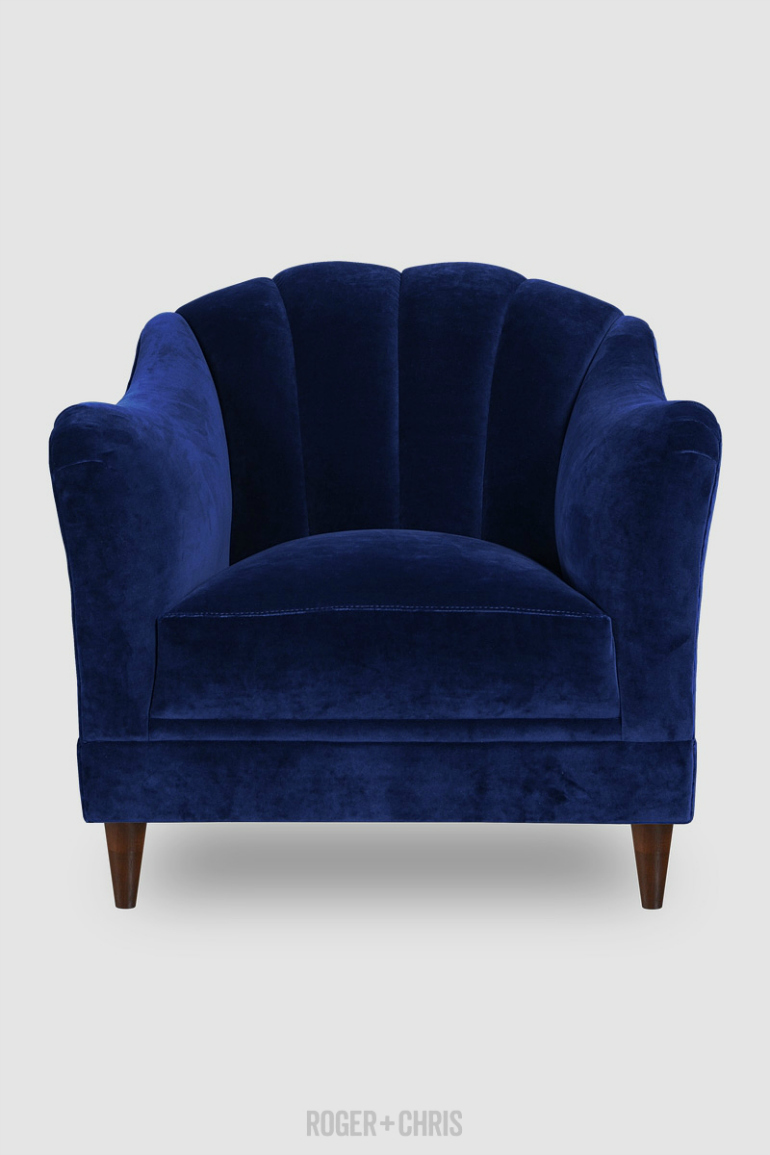 Lapiz Blue: The Pantone Color You Need For Your Velvet Armchair velvet armchair Lapiz Blue: The Pantone Color You Need For Your Velvet Armchair l