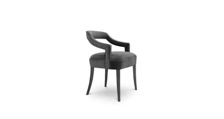9 Striking Dining Chairs That Will Make A Statement In Any Décor dining chairs 9 Striking Dining Chairs That Will Make A Statement In Any Décor oka dining chair modern design 2