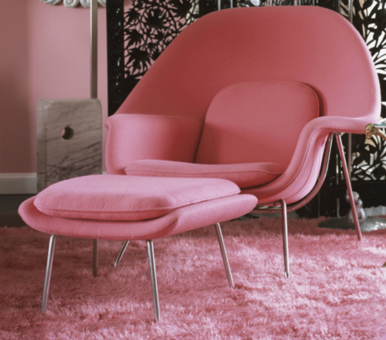 Pink Yarrow: A Fabulous Color For Modern Chairs modern chairs Pink Yarrow: A Fabulous Color For Modern Chairs pembe tekli koltuk modelleri 20130509084406 b