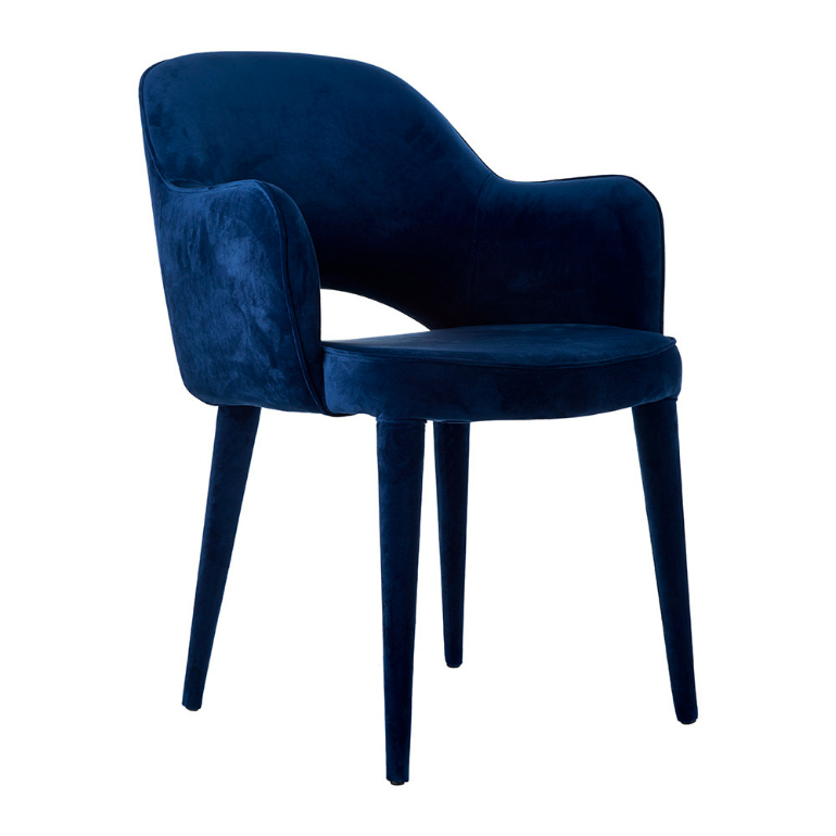 Lapiz Blue: The Pantone Color You Need For Your Velvet Armchair velvet armchair Lapiz Blue: The Pantone Color You Need For Your Velvet Armchair velvet arms chair blue 202062
