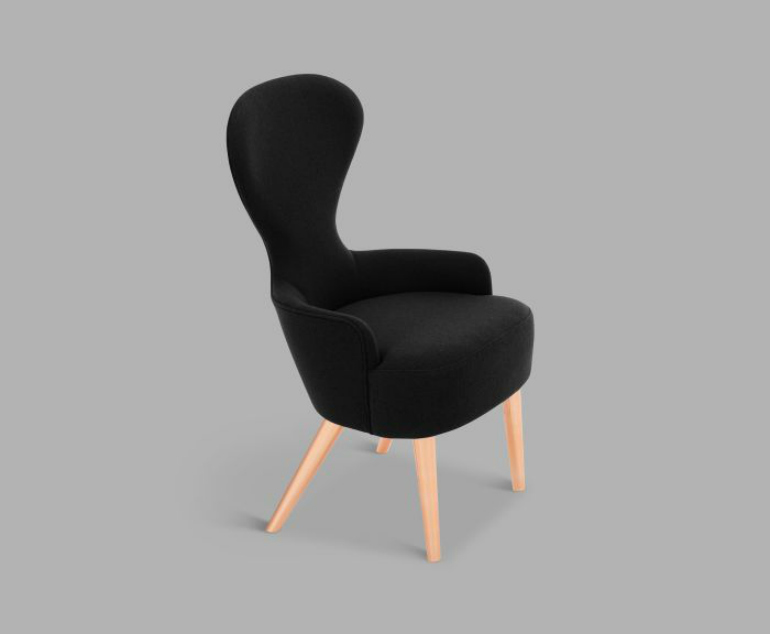 9 Striking Dining Chairs That Will Make A Statement In Any Décor dining chairs 9 Striking Dining Chairs That Will Make A Statement In Any Décor wbd01ha0190c wingback dining chair copper leg halingdal 65 main g3