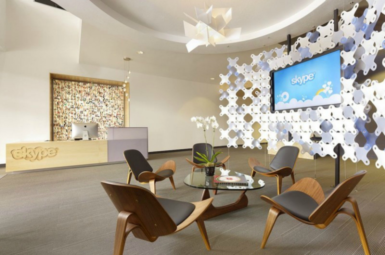 7 Modern Chairs In The World's Most Amazing Offices modern chairs 7 Modern Chairs In The World's Most Amazing Offices Innovative Skype   s North American Headquarters by Blitz 2 800x530