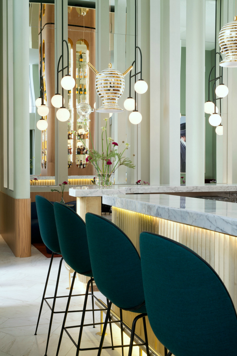 How To Find The Perfect Bar Chair For Your Interior bar chair How To Find The Perfect Bar Chair For Your Interior jaime hayon barcelo torre de madrid hotel spain interiors dezeen 2364 col 27