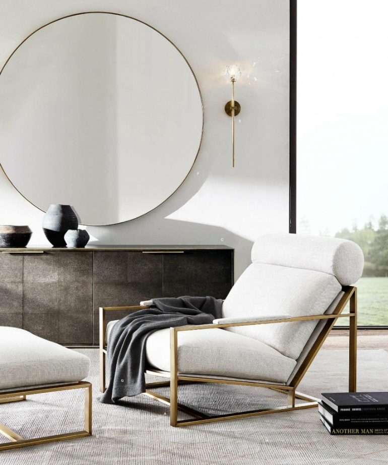 6 Stunning Designer Chairs For Living Rooms designer chairs 6 Stunning Designer Chairs For Living Rooms rh sideboard and chair room inspiration moder