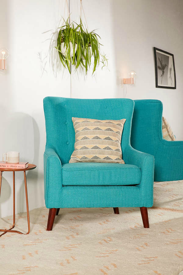 10 superb accent chairs for small living rooms for Occasional chairs for living room