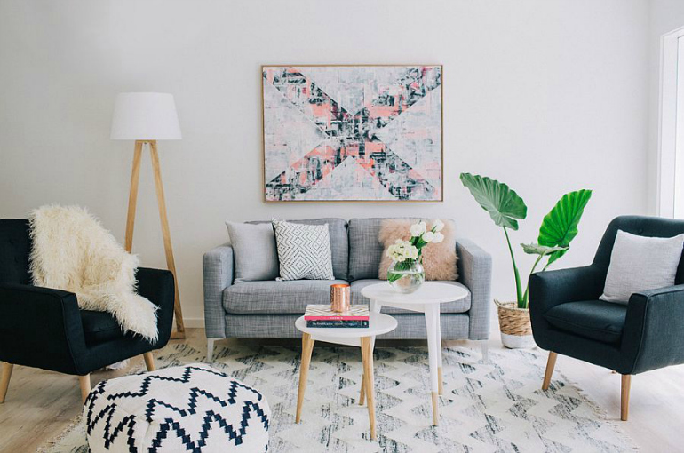 7 Sublime Chairs Featuring Wood living room chairs 7 Sublime Living Room Chairs Featuring Wood A touch of greenery for your chic Scandinavian living room