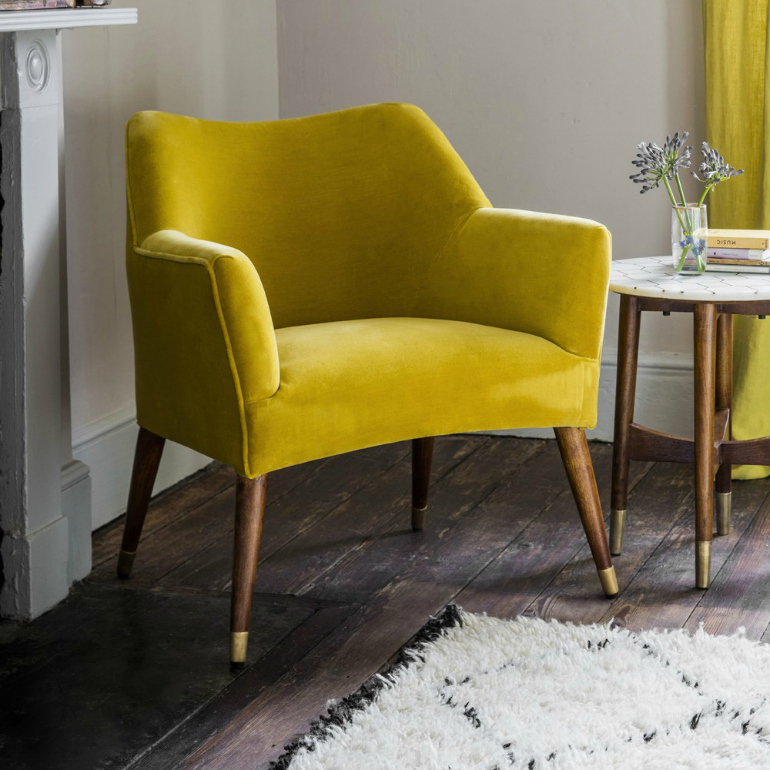 Primrose Yellow: The Perfect Pantone Color For Velvet Chairs velvet chairs Primrose Yellow: The Perfect Pantone Color For Velvet Chairs a t march 2017 6 of 90  1