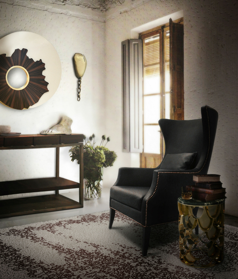7 Stylish Black Armchairs That Will Seduce You black armchairs 7 Stylish Black Armchairs That Will Seduce You brabbu ambience press 20 HR