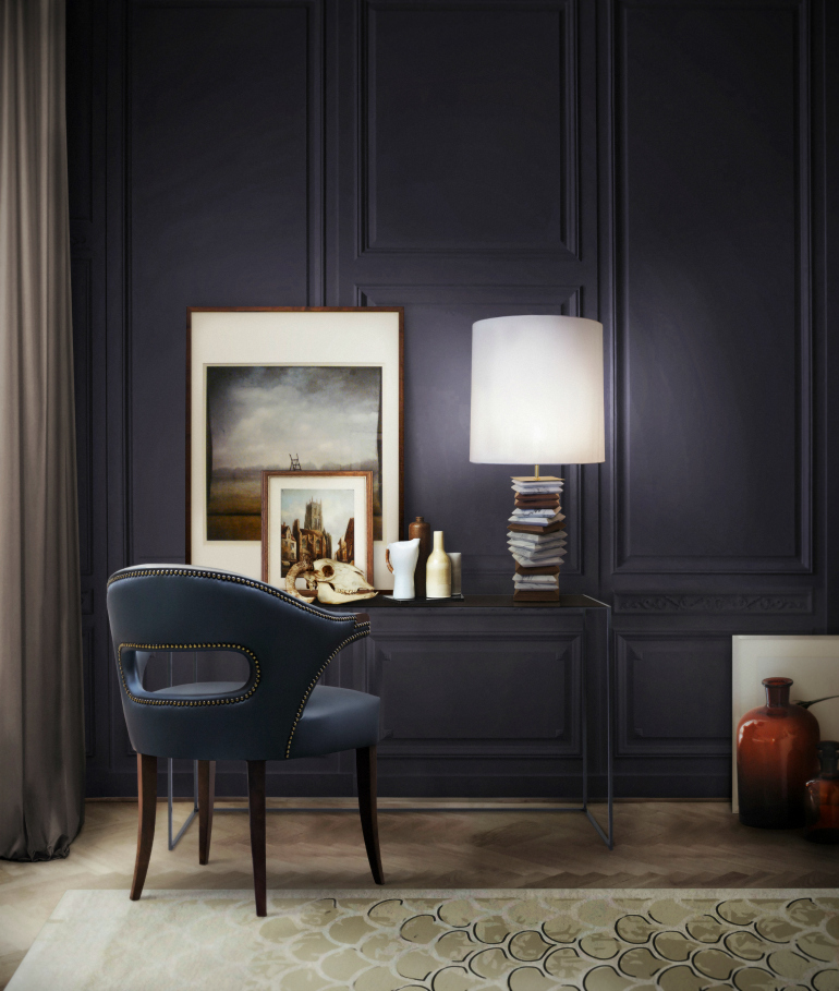 How To Pick The Right Accent Chair In A Dark Interior accent chair How To Pick The Right Accent Chair In A Dark Interior brabbu ambience press 36 HR