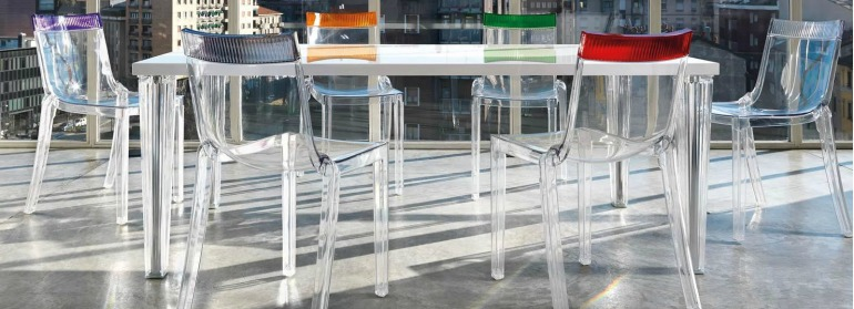 5 Times Philippe Starck's Chair Design Blew Our Mind chair design 6 Times Philippe Starck's Chair Design Blew Our Mind kartell hi cutchair lifestyle