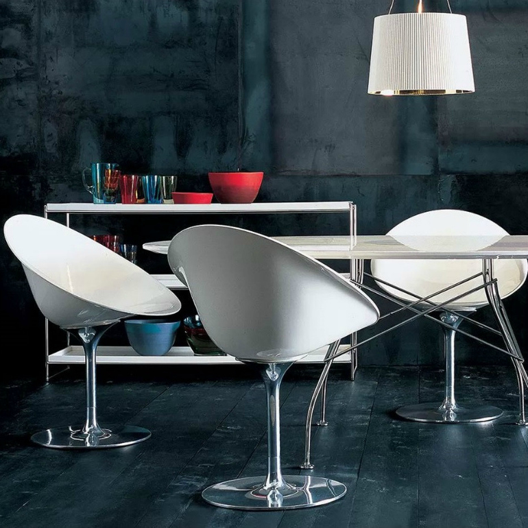 5 Times Philippe Starck's Chair Design Blew Our Mind chair design 6 Times Philippe Starck's Chair Design Blew Our Mind kartell s contemporary eros chair staged in white 55d5da39 31de 4d30 a465 464e4f4fbb8a