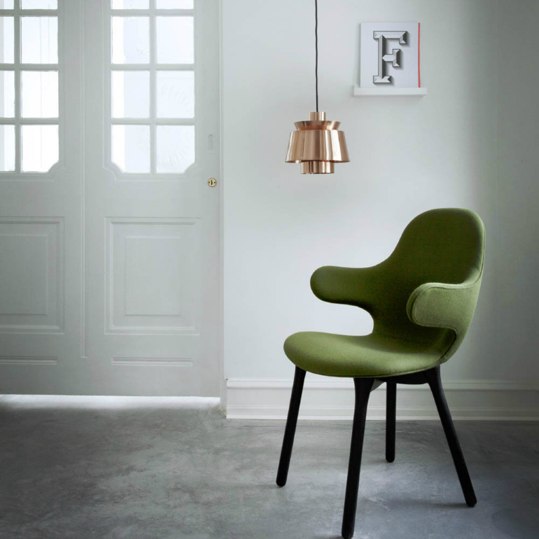 Pantone's Kale: A Top Trendy Color For Modern Chairs modern chairs Pantone's Kale: A Top Trendy Color For Modern Chairs utzon lamp copper and tradition