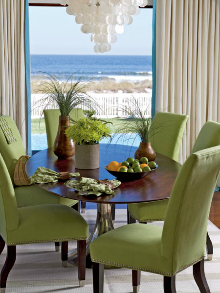 7 rainbow dining room ideas trendy and accent chairs for it - Accent chairs in living room ideas ...