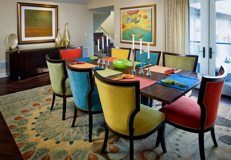 accent chairs accent chairs 7 Rainbow Dining Room Ideas: trendy and accent chairs for it 6 Rainbow Dining Room Ideas trendy and accent chairs for it9