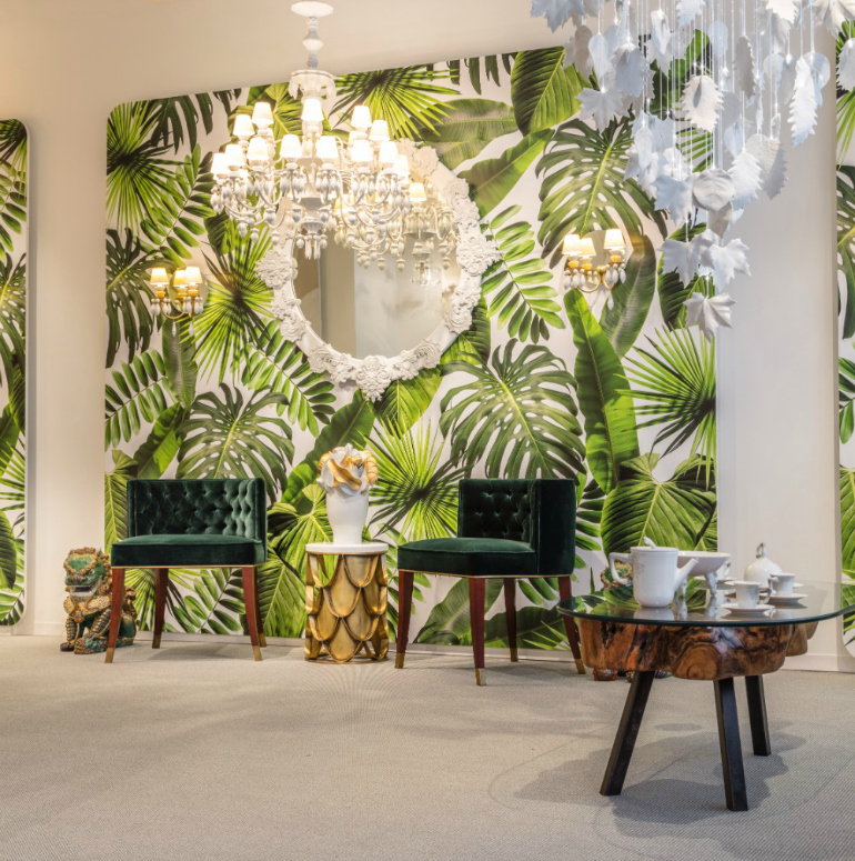 Living Room Furniture Nyc: Living Room Chairs: Lladró Showroom NYC Features Luxurious